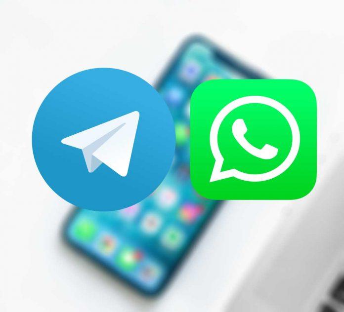 تلگرام یا واتس آپ