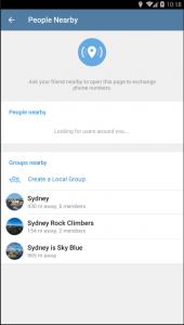 ویژگی جدید تلگرام افراد نزدیک خود را میتوانید پیدا کنید