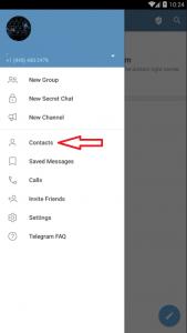پیدا کردن افراد نزدیک خود در تلگرام