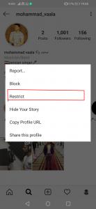 قابلیت Restrict برای جلوگیری از مزاحمت در اینستاگرام