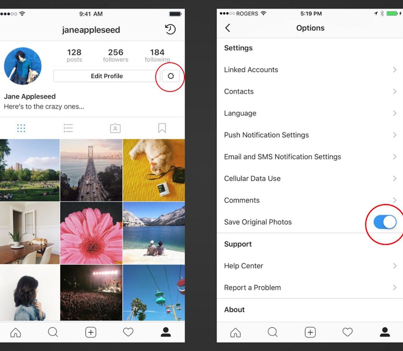 آموزش ذخیره تصویر در اینستاگرام که از شما پنهان کرده اند!
