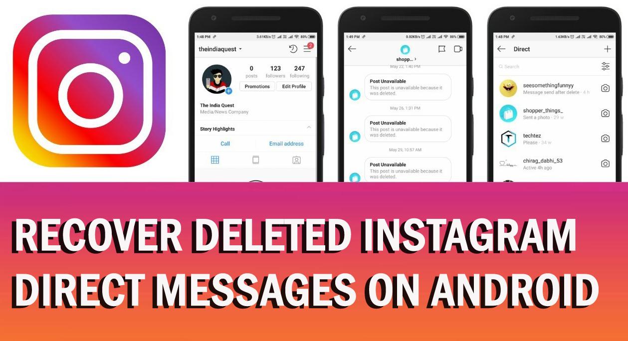 چگونه محتوای حذف شده در اینستاگرام را بازیابی کنیم؟