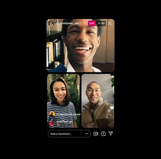 خبر جدید اینستاگرام قابلیت لایو 4 نفره در اینستاگرام به روز رسانی شد.