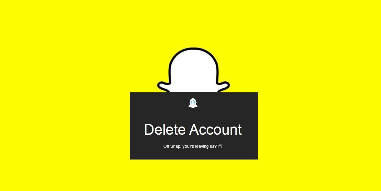 اسنپ چت: آموزش حذف حساب کاربری اسنپ چت(delete account snapchat)
