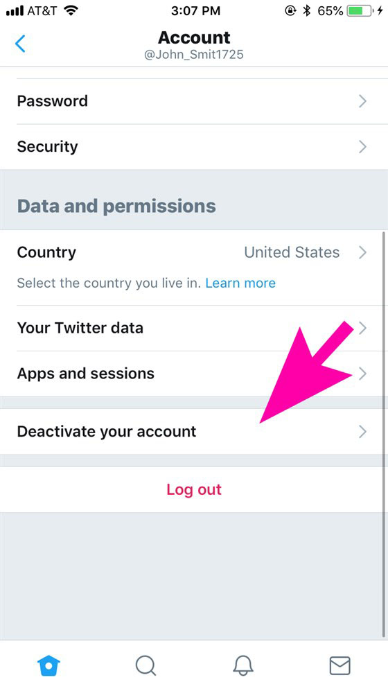 تویتتر: آموزش حذف حساب کاربری توییتر در گوشی و کامپیوتر