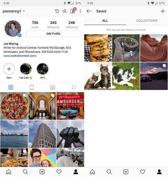 اینستاگرام: آموزش ذخیره پست و تصویر اینستاگرام در موبایل و کامپیوتر