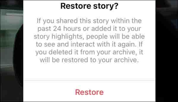 آموزش بازیابی پست و استوری های پاک شده از اینستاگرام