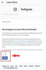 اینستاگرام :آموزش رفع بلاک شدن توسط اینستاگرام