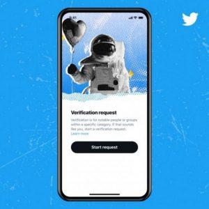 توییتر : ثبت درخواست برای تیک آبی توییتر مجدداً غیر فعال شد.