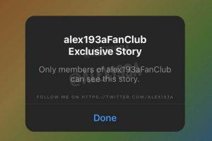 اینستاگرام :ویژگی Exclusive Stories یا استوریهای انحصاری در اینستاگرام
