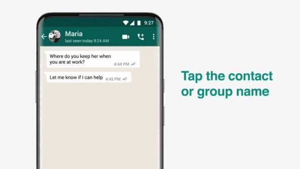 واتساپ :به زودی پیام های ناپدید شونده واتساپ به اندروید و iOS می آید.