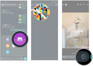 واتساپ: آموزش چگونگی ارسال عکس و ویدئوی یک بار مصرف در واتساپ
