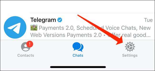 تلگرام :چگونگی حذف تصاویر قبلی پروفایل تلگرام