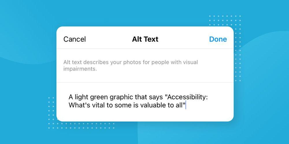 اینستاگرام : چگونگی استفاده افراد کم بینا و نابینا از اینستاگرام
